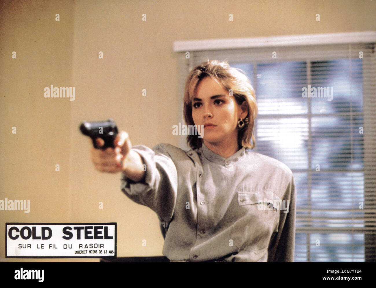 Sharon Stone Cold Steel - US