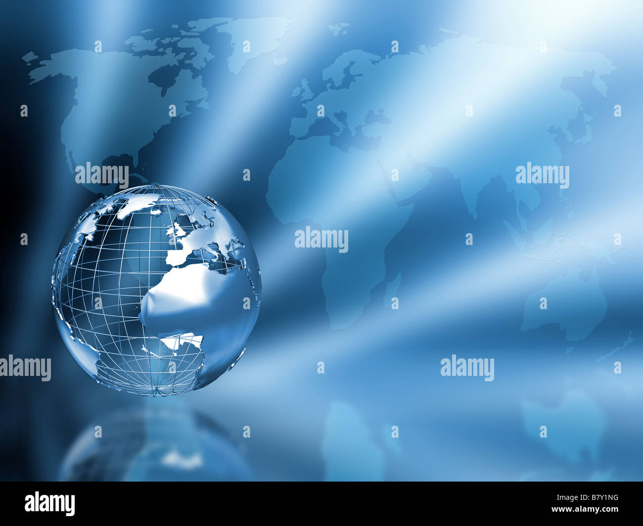 3d render of a globe on a world map background stock photo 22107052 3d render of a globe on a world map background gumiabroncs Gallery