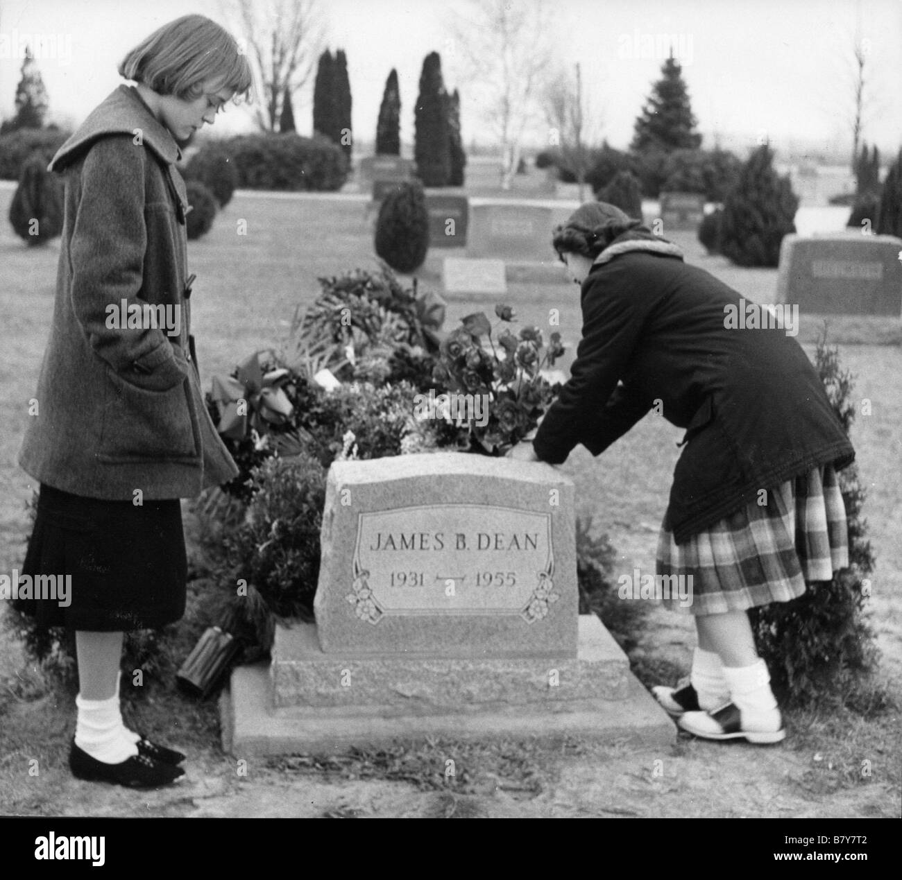 James Dean la tombe de james dean Stock Photo: 22111826 - Alamy