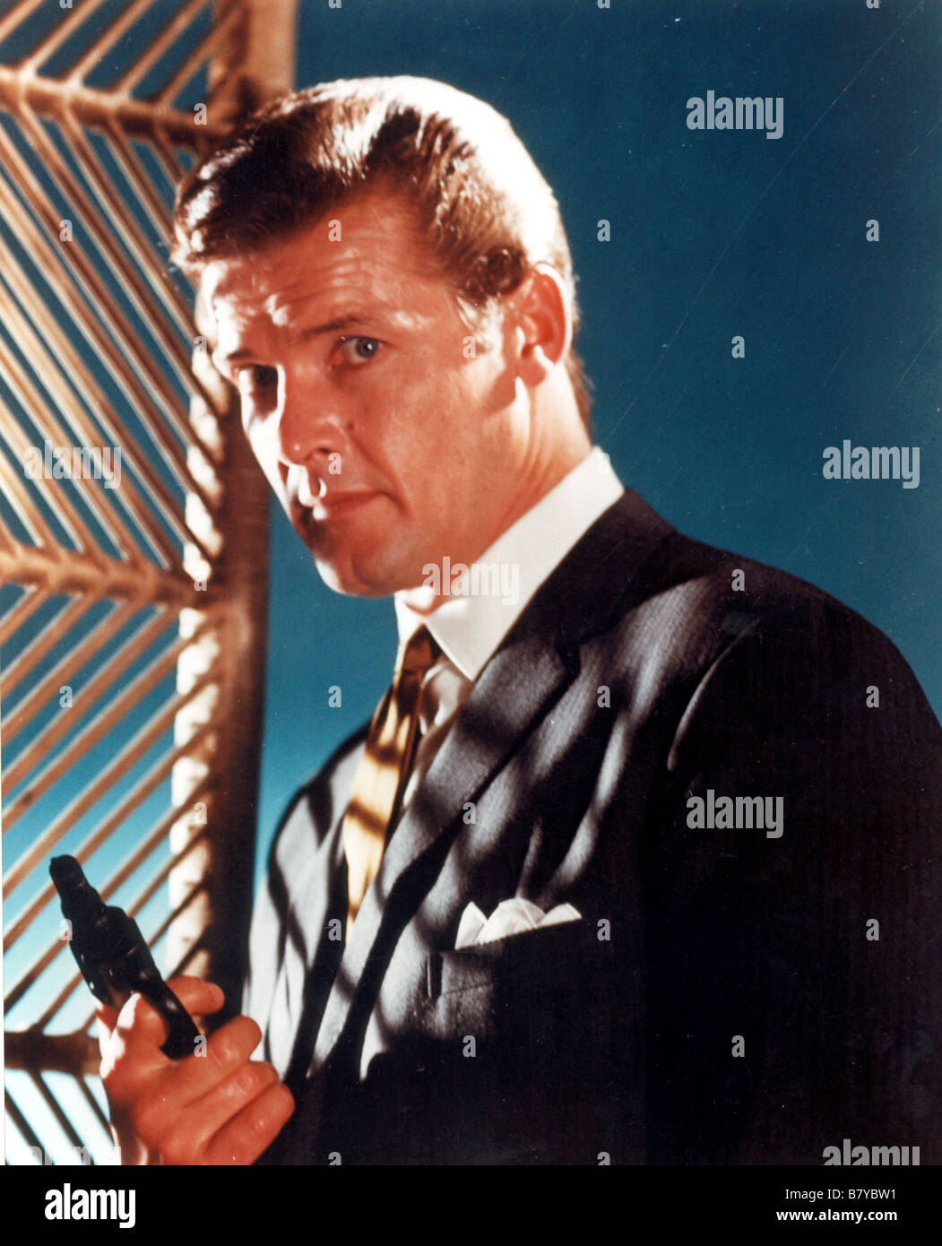 The Saint  TV series 1962 -1969 USA Director: John Ainsworth, Robert Asher Roger Moore - Stock Image