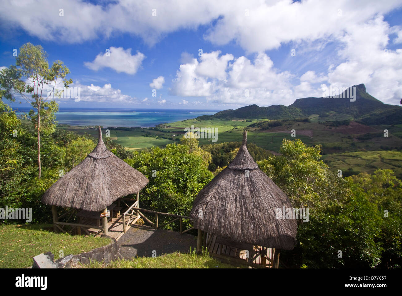 Game park and Resort Domain du Chasseur Mauritius Africa - Stock Image