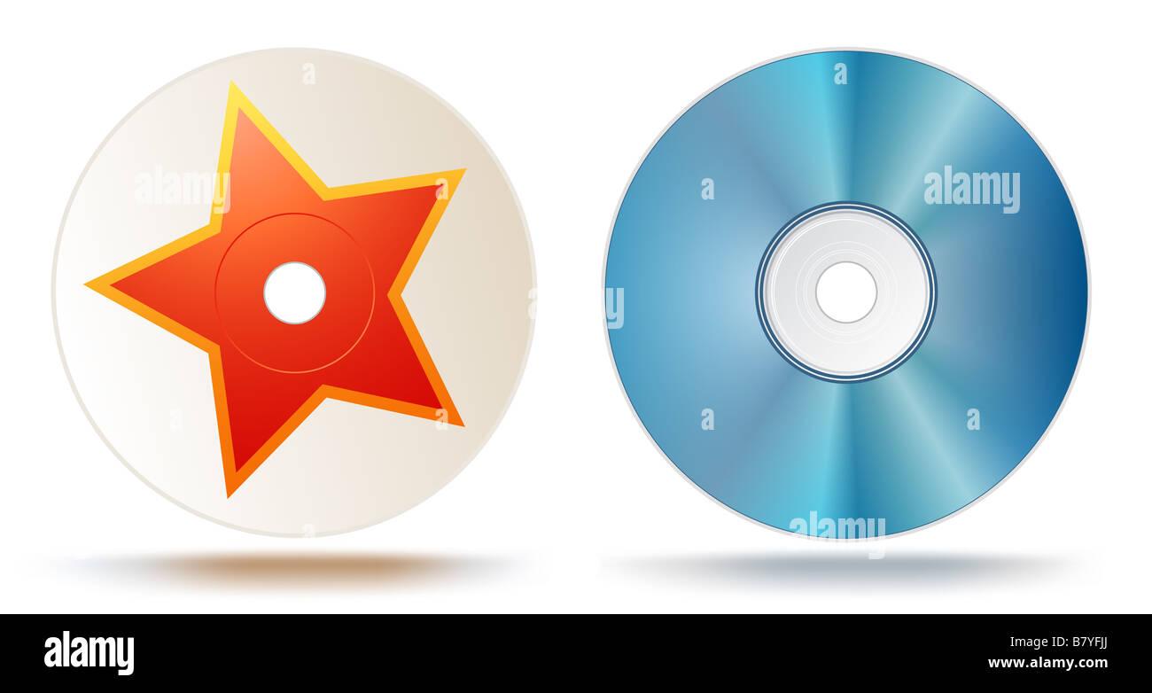 Blu-ray disc - Stock Image