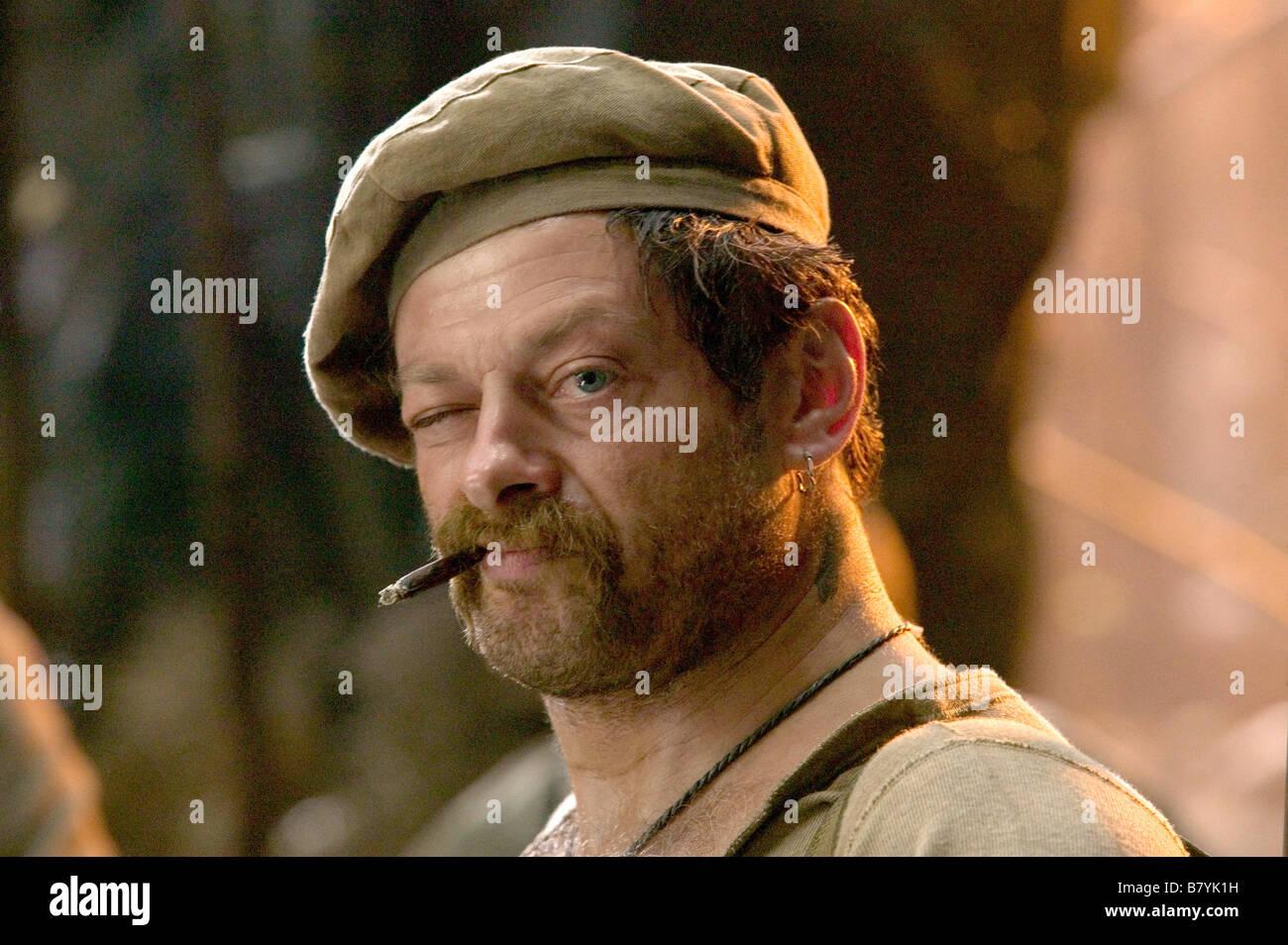 King Kong  Year: 2005 - New Zealand / USA Andy Serkis Director: Peter Jackson - Stock Image