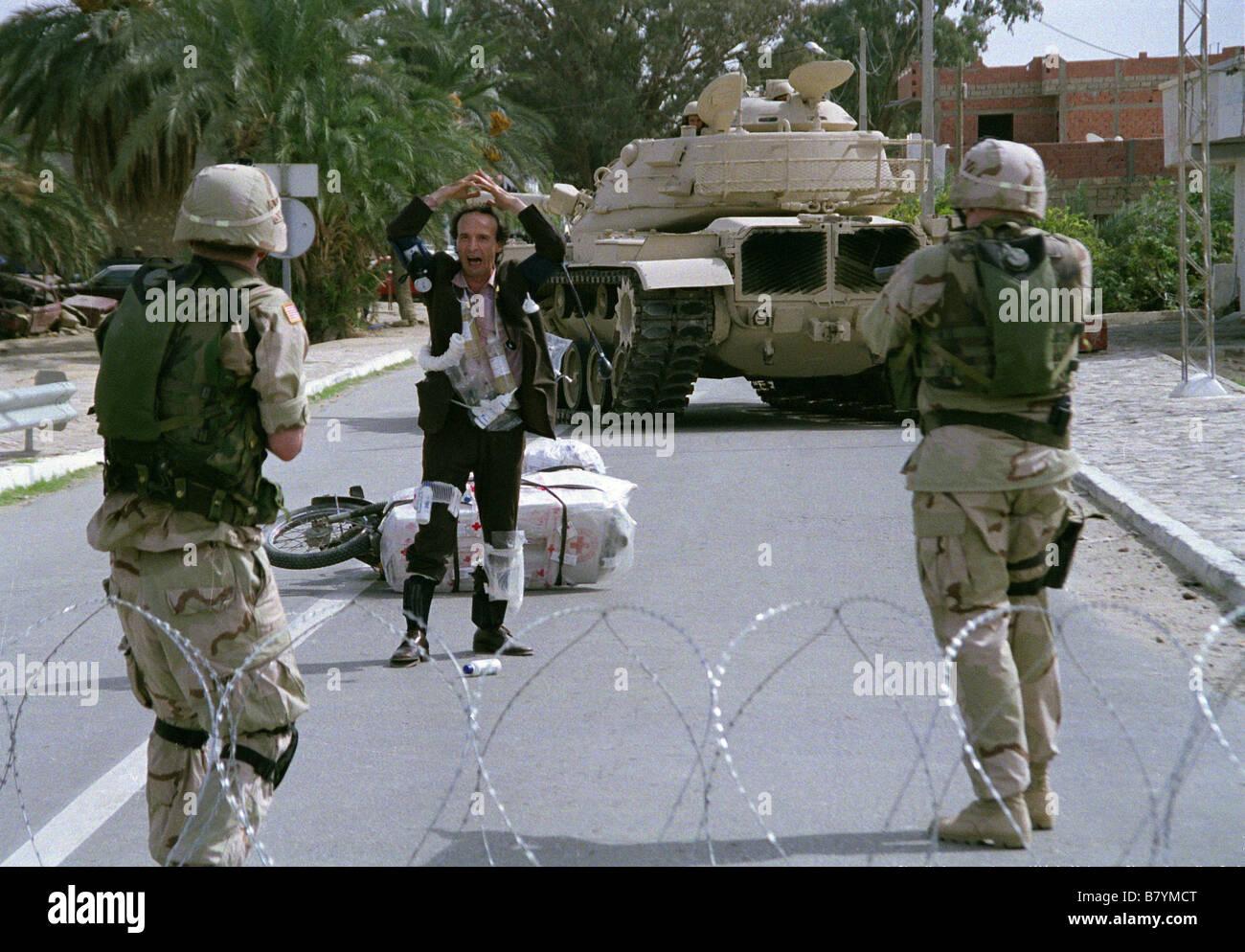 Le tigre et la neige La Tigre e la neve  Year: 2004 - Italy Roberto Benigni  Director: Roberto Benigni - Stock Image