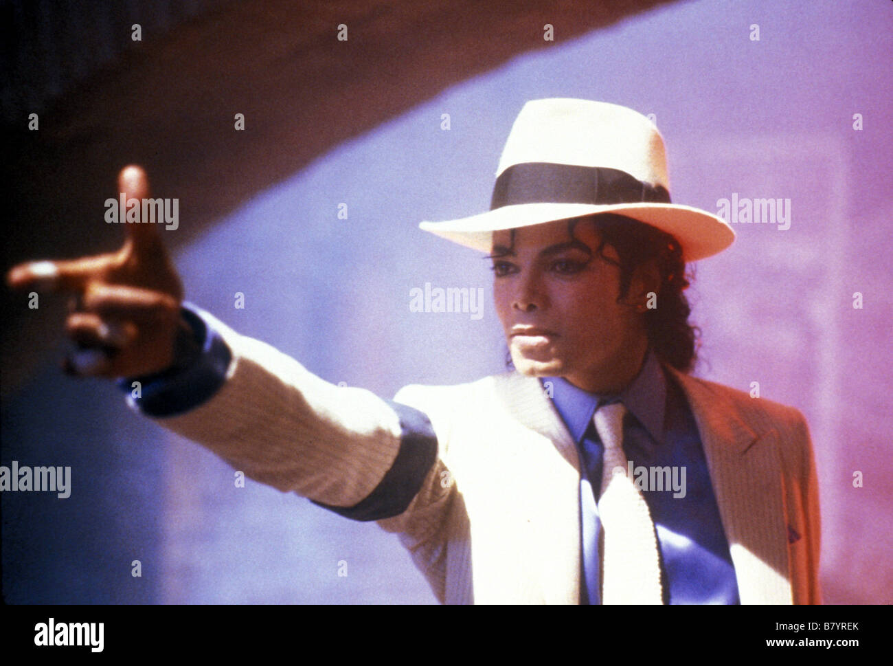 Moonwalker Year: 1988 USA Michael Jackson  Director: Jerry Kramer Jim Blashfield Stock Photo
