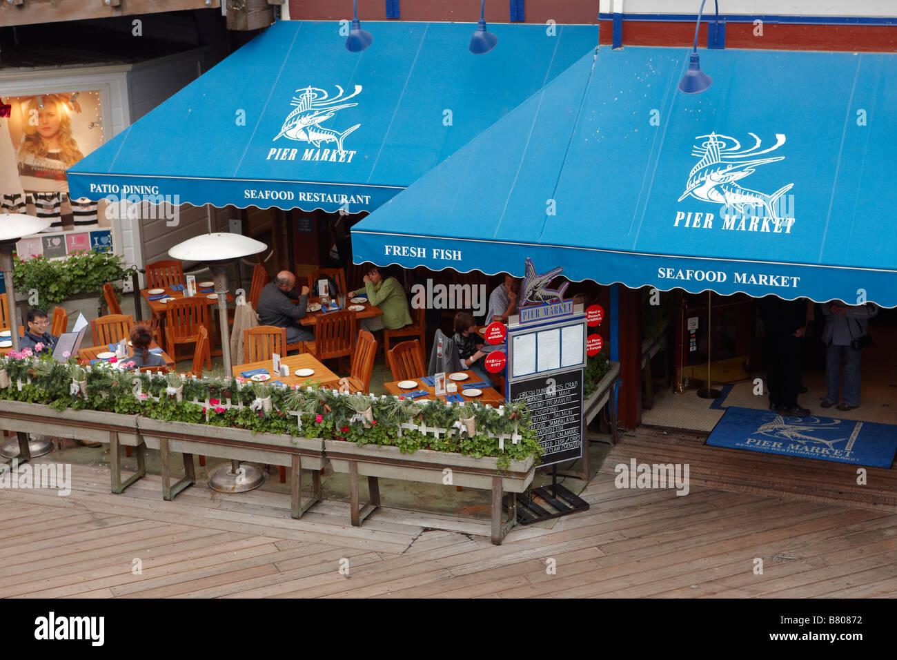 Seafood Restaurant On Pier 39 San Francisco California