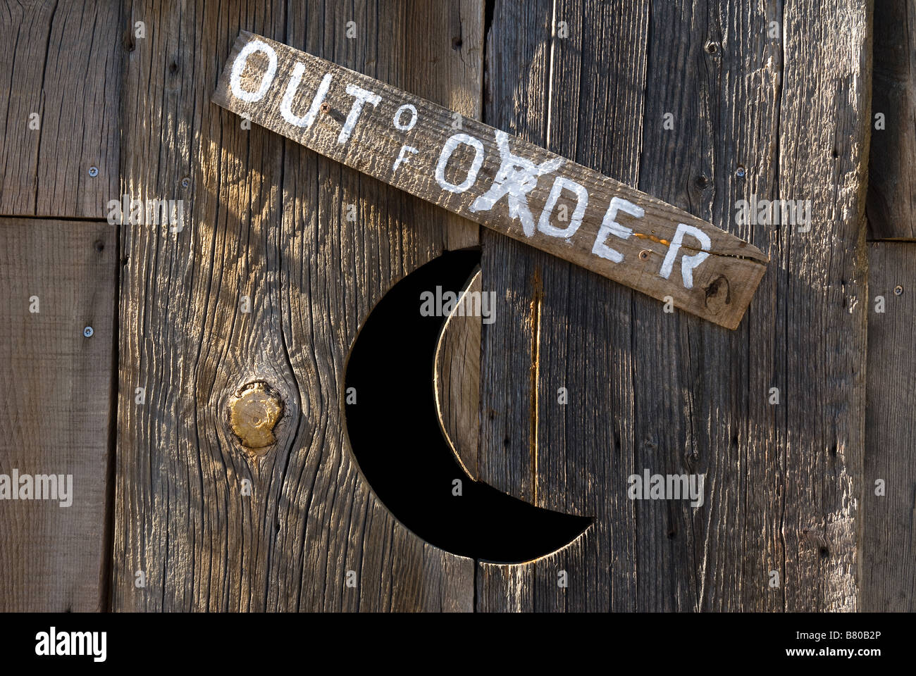 Outhouse Moon Stock Photos Outhouse Moon Stock Images Alamy