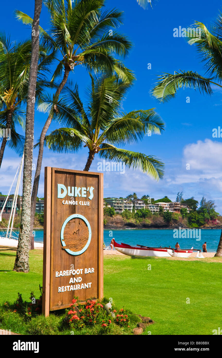 Dukes Restaurant At The Kauai Marriott Resort Island Of