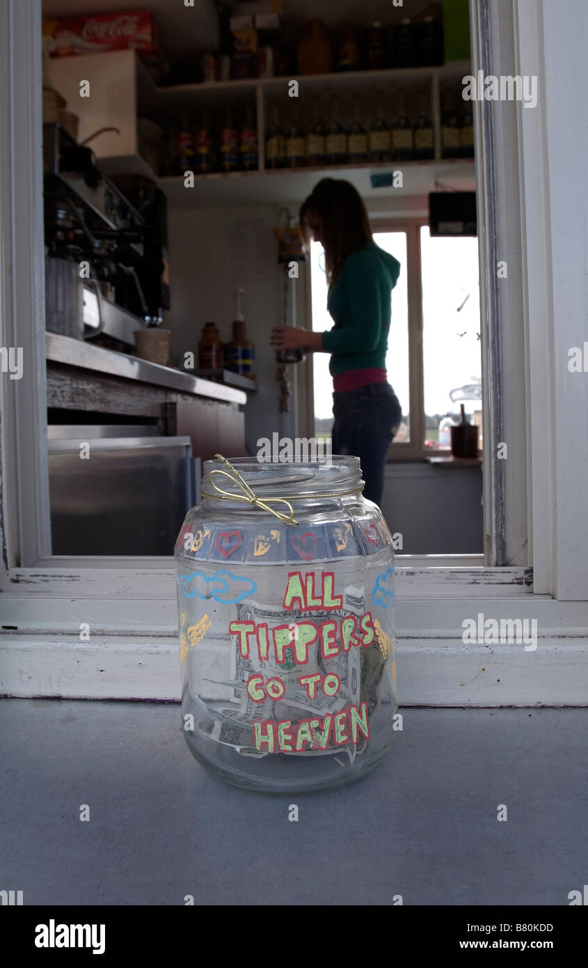 Funny Tip Jar High Resolution Stock Photography And Images Alamy