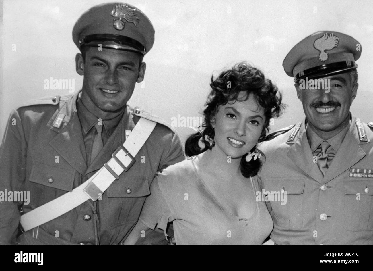 Pane, amore e fantasia  Bread, Love and Dreams Year: 1953 Italy Vittorio De Sica, Gina Lollobrigida, Roberto Risso - Stock Image