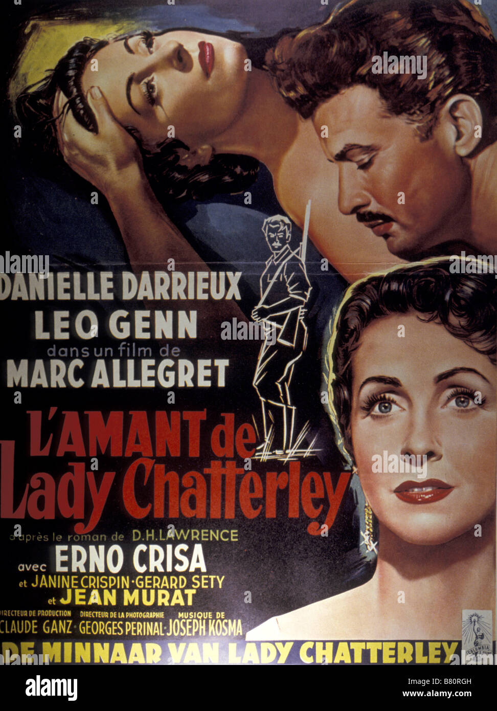 lamant de lady chatterley 1993 movie