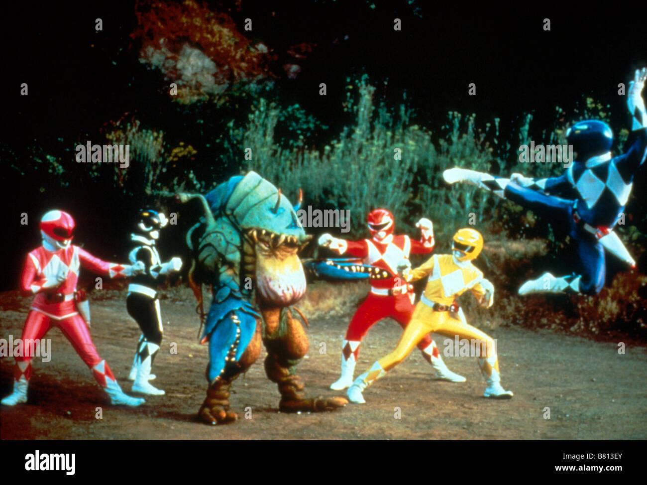Mighty Morphin' Power Rangers  TV-Series 1993-1996 USA / Japan Director: John Blizek David Blyth - Stock Image