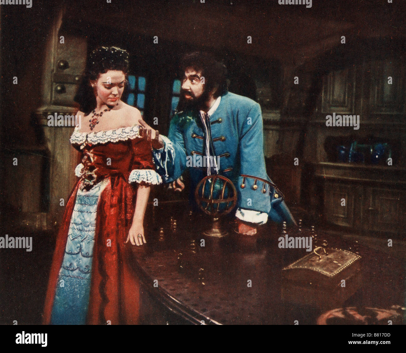 Barbe noire, le pirate Blackbeard, the Pirate Year: 1952 USA Linda Stock  Photo - Alamy