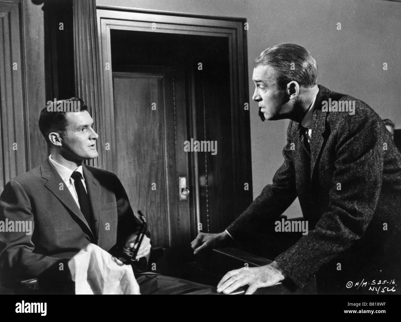 Anatomy of a Murder Year: 1959 USA James Stewart, Orson Bean Stock ...