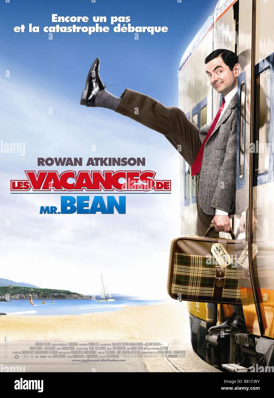 Mr. Bean's Holiday  Year: 2007 - UK Affiche / Poster Rowan Atkinson  Director: Steve Bendelack - Stock Image