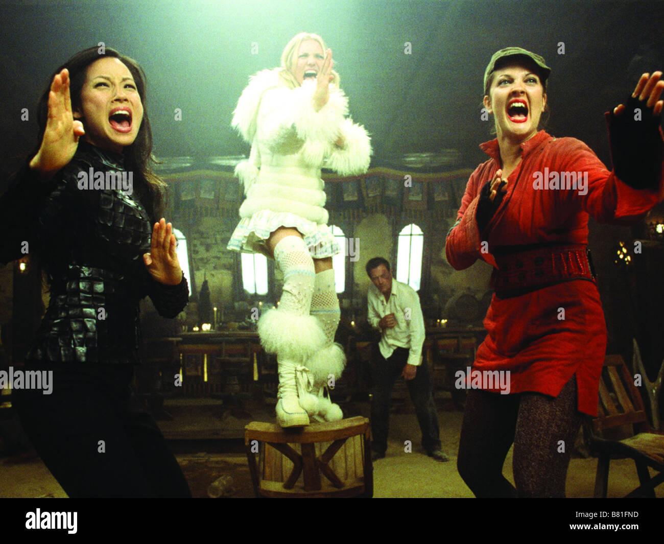 Charlie's Angels: Full Throttle  Year: 2003 USA Lucy Liu, Cameron Diaz, Drew Barrymore  Director: McG - Stock Image