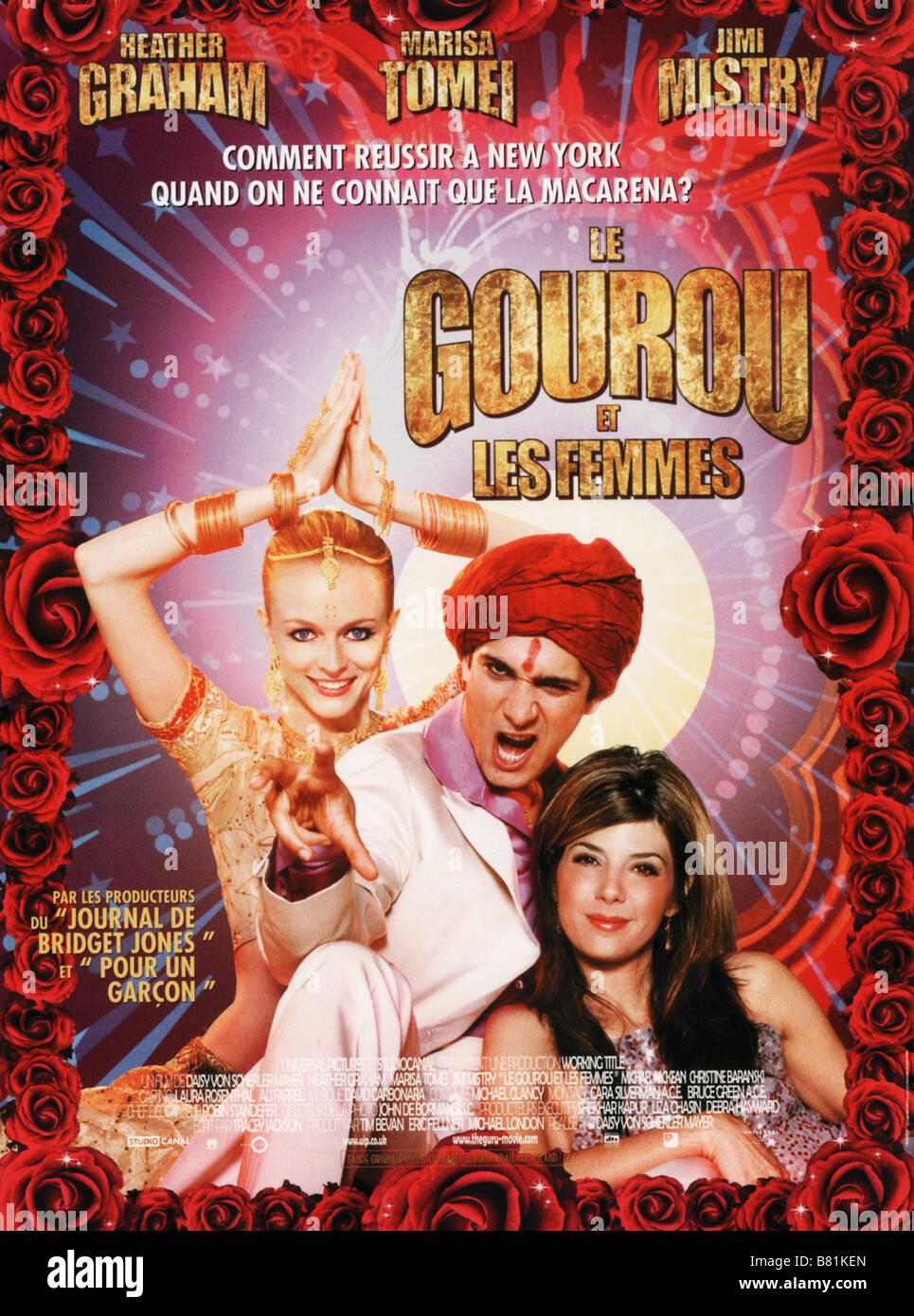 The Guru Year: 2002 Director: Daisy von Scherler Mayer Heather Graham, Jimi Mistry, Marisa Tomei  Movie poster - Stock Image