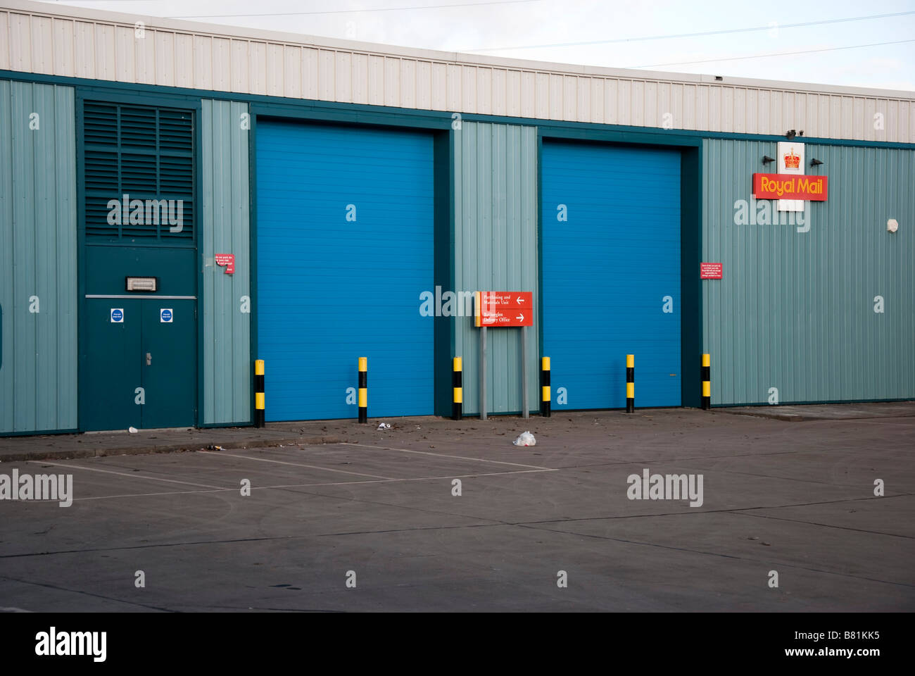 Rutherglen Delivery Office Glasgow - Stock Image