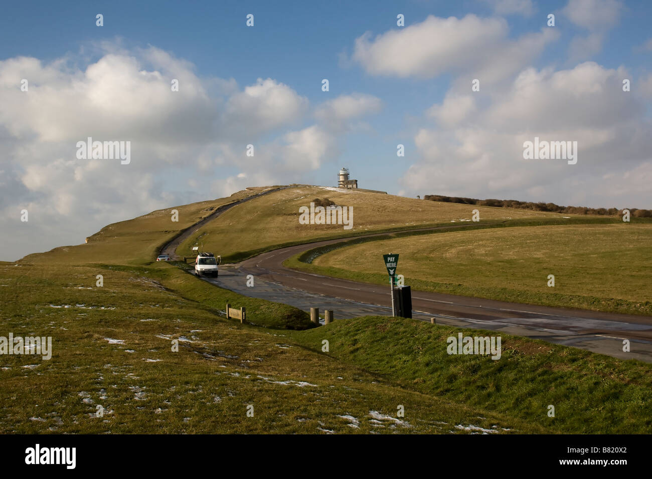 South Downs near Beachy Head, East Sussex England GB UK - Stock Image