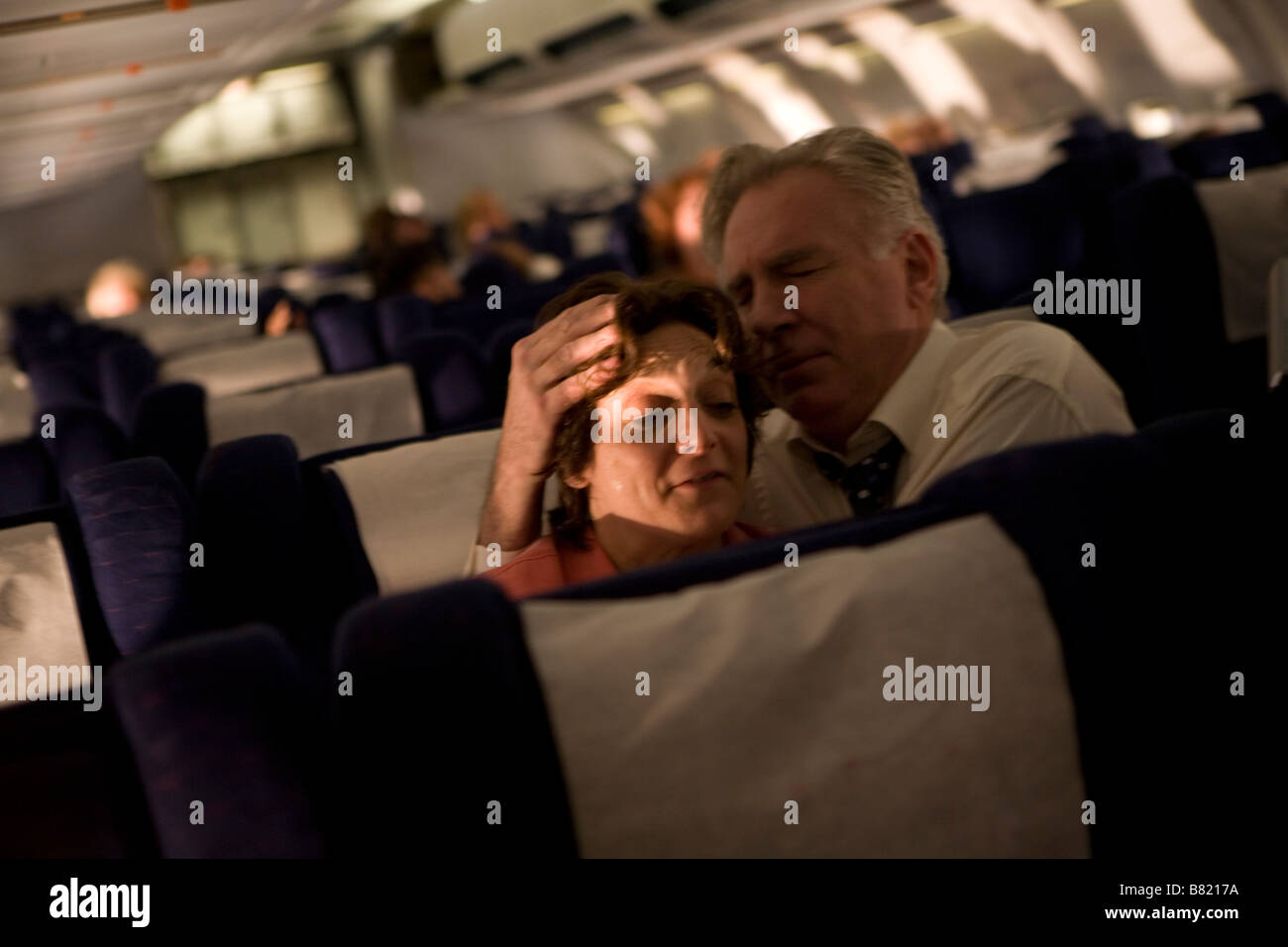 United 93  Year 2006 USA Becky London, Tom O'Rourke  Director: Paul Greengrass - Stock Image