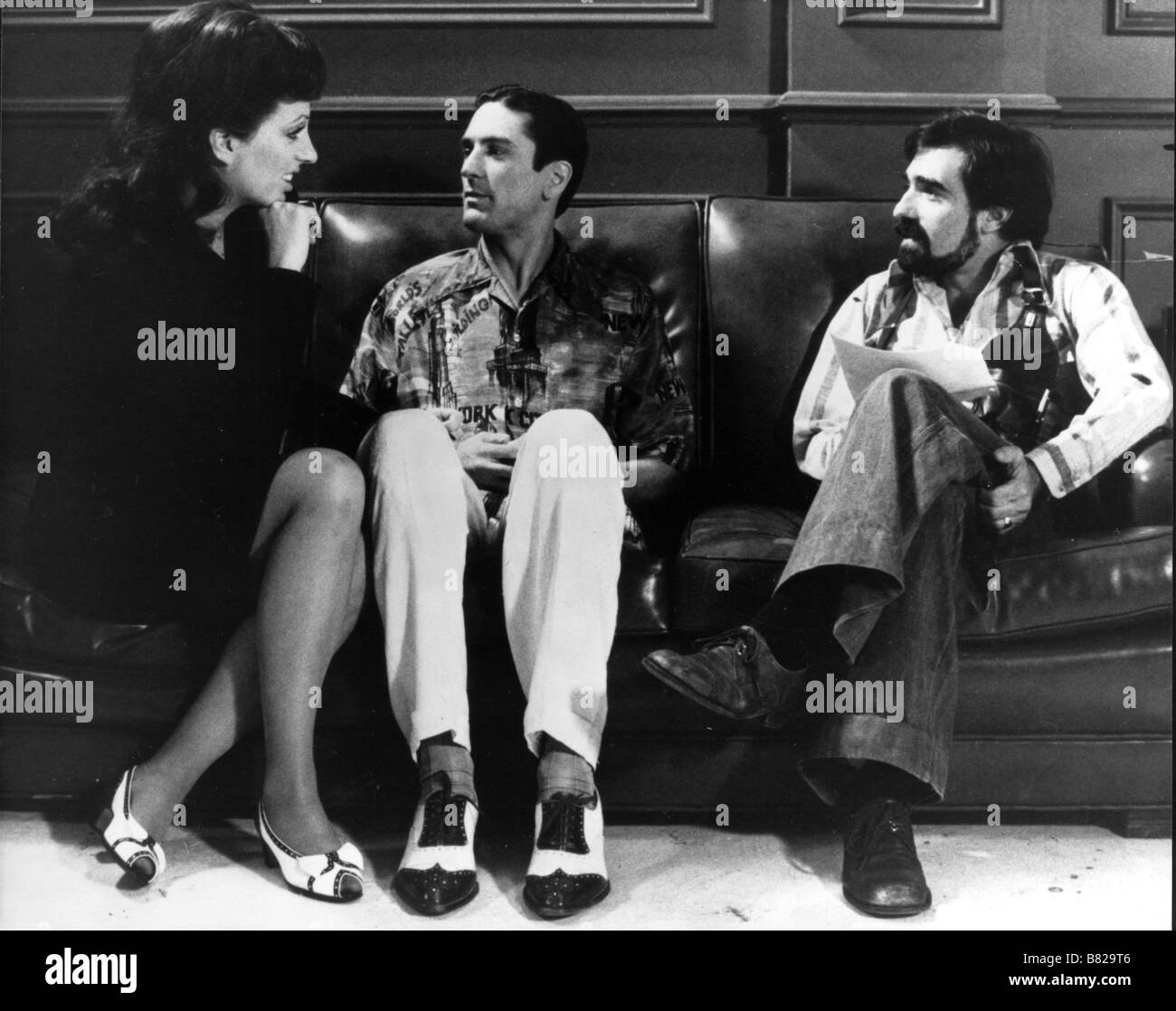 New York, New York Year: 1977 USA Director : Martin Scorsese Liza Minnelli , Martin Scorsese , Robert De Niro Shooting - Stock Image