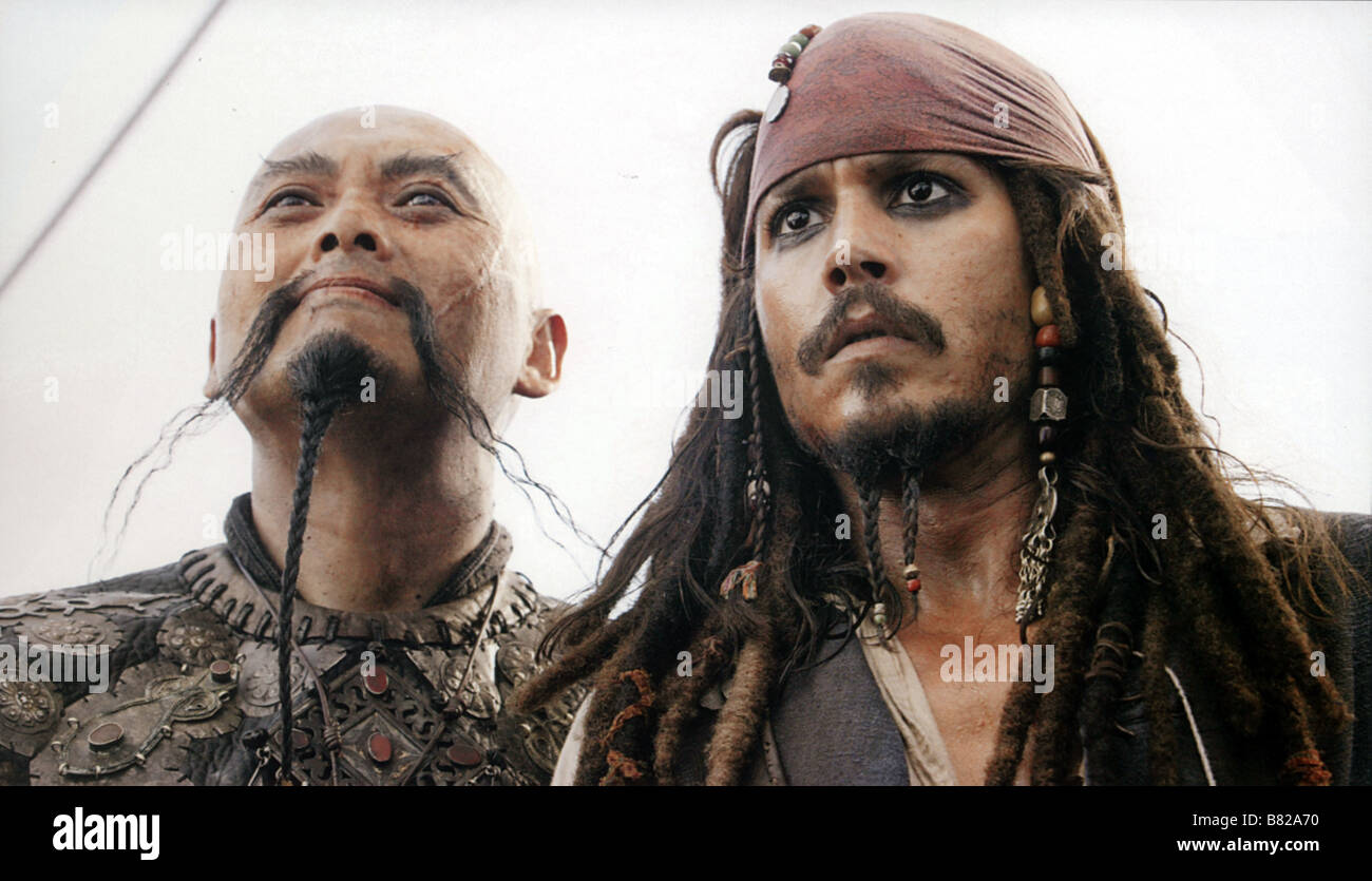 Caribbean Pirate Goatee and Moustache