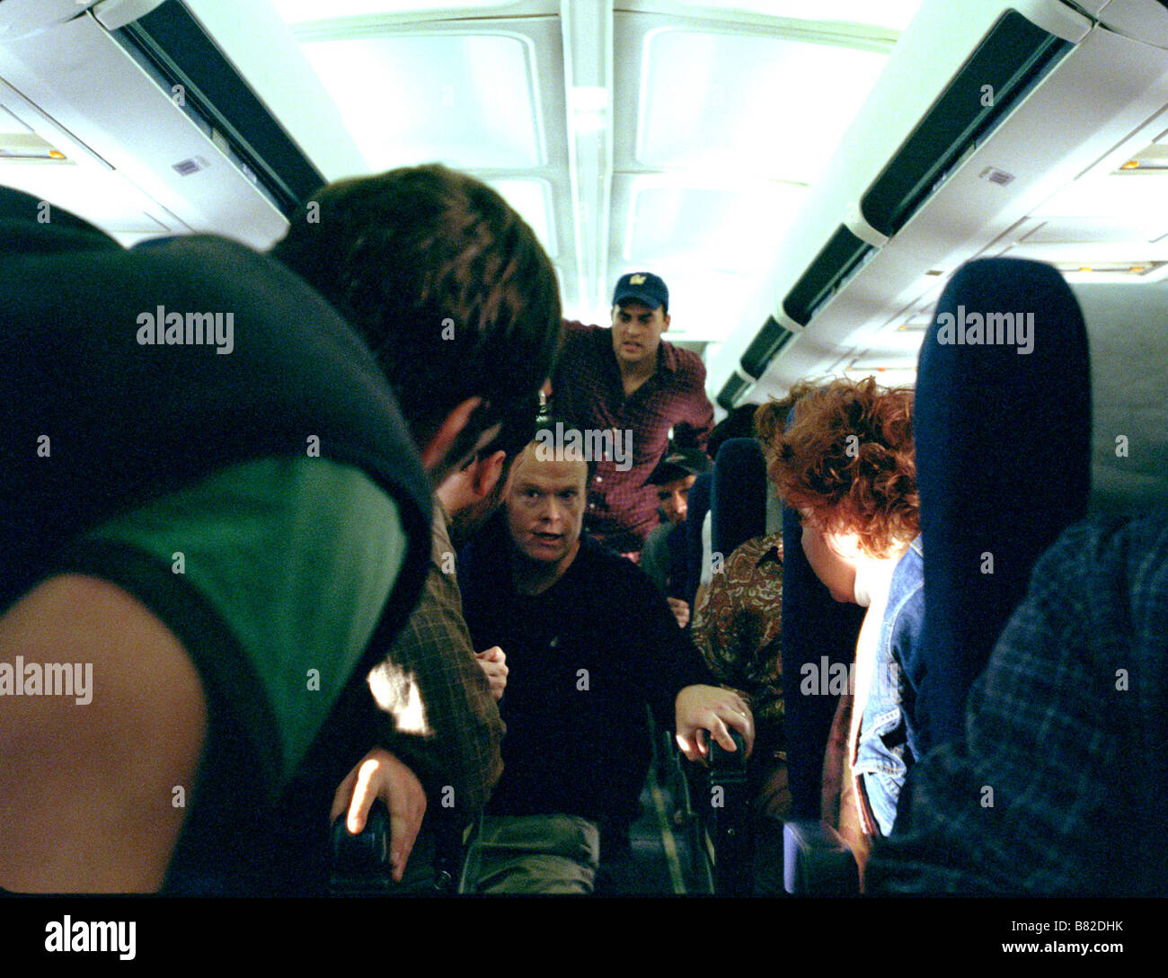 United 93  2006 France / UK / USA Cheyenne Jackson  Director: Paul Greengrass - Stock Image