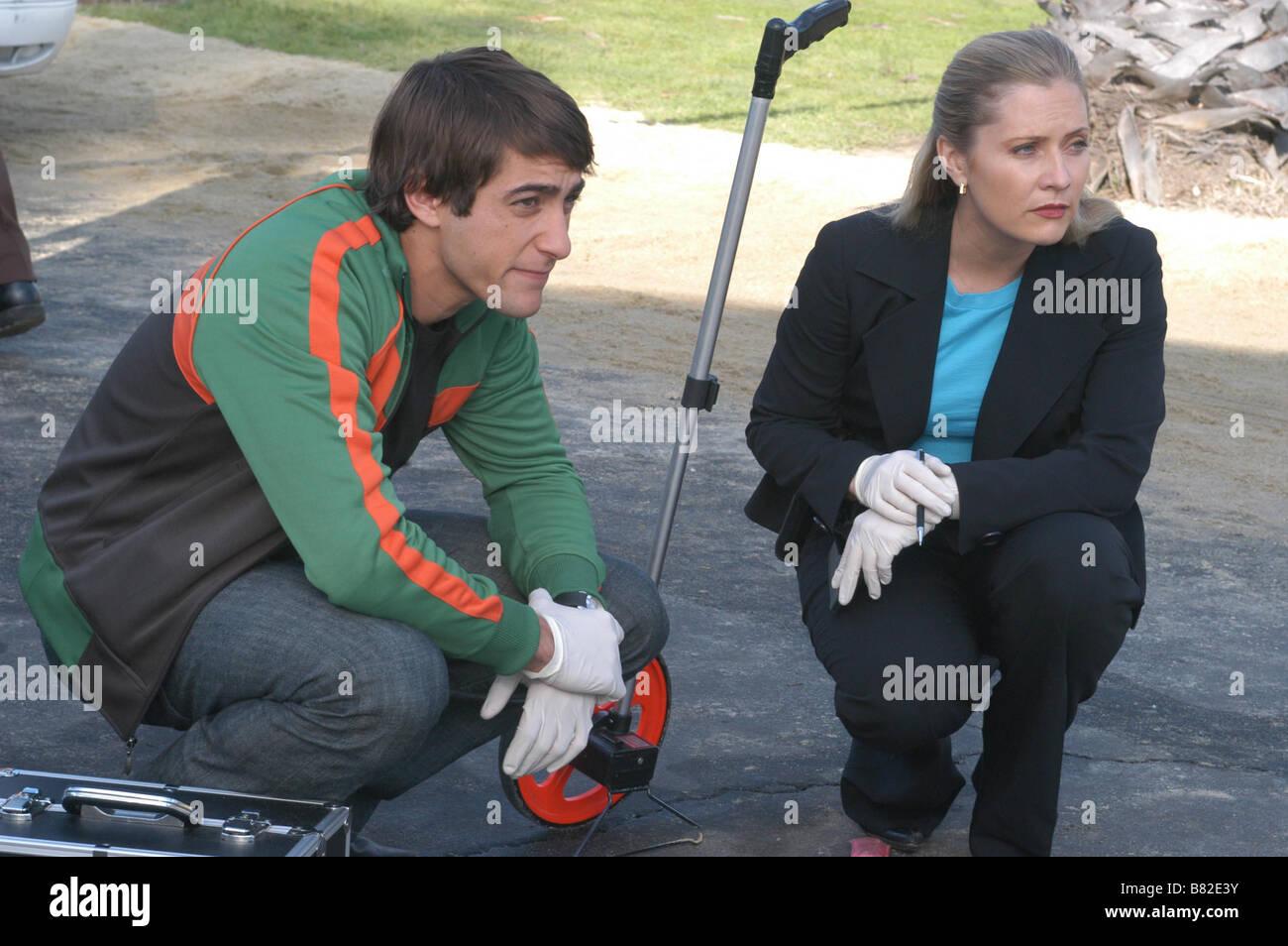 CSI: Miami  TV Series 2002-???? 2002 Season 1 - Ashes to Ashes Emily Procter, Jonathan Togo  Director: Bryan Spicer - Stock Image