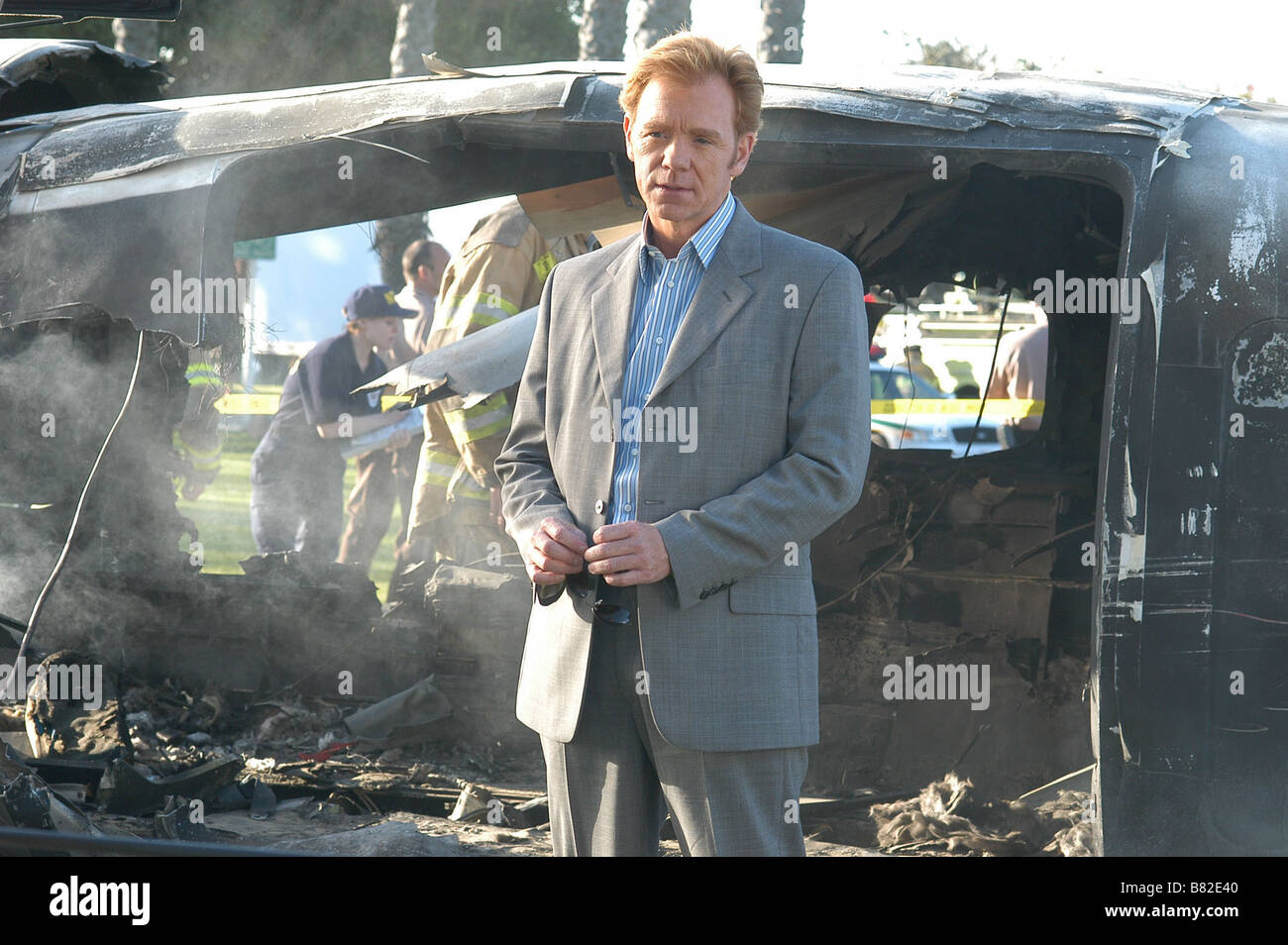 CSI: Miami  TV Series 2002-???? 2002 Season 1 - Ashes to Ashes David Caruso  Director: Bryan Spicer Created by Anthony - Stock Image