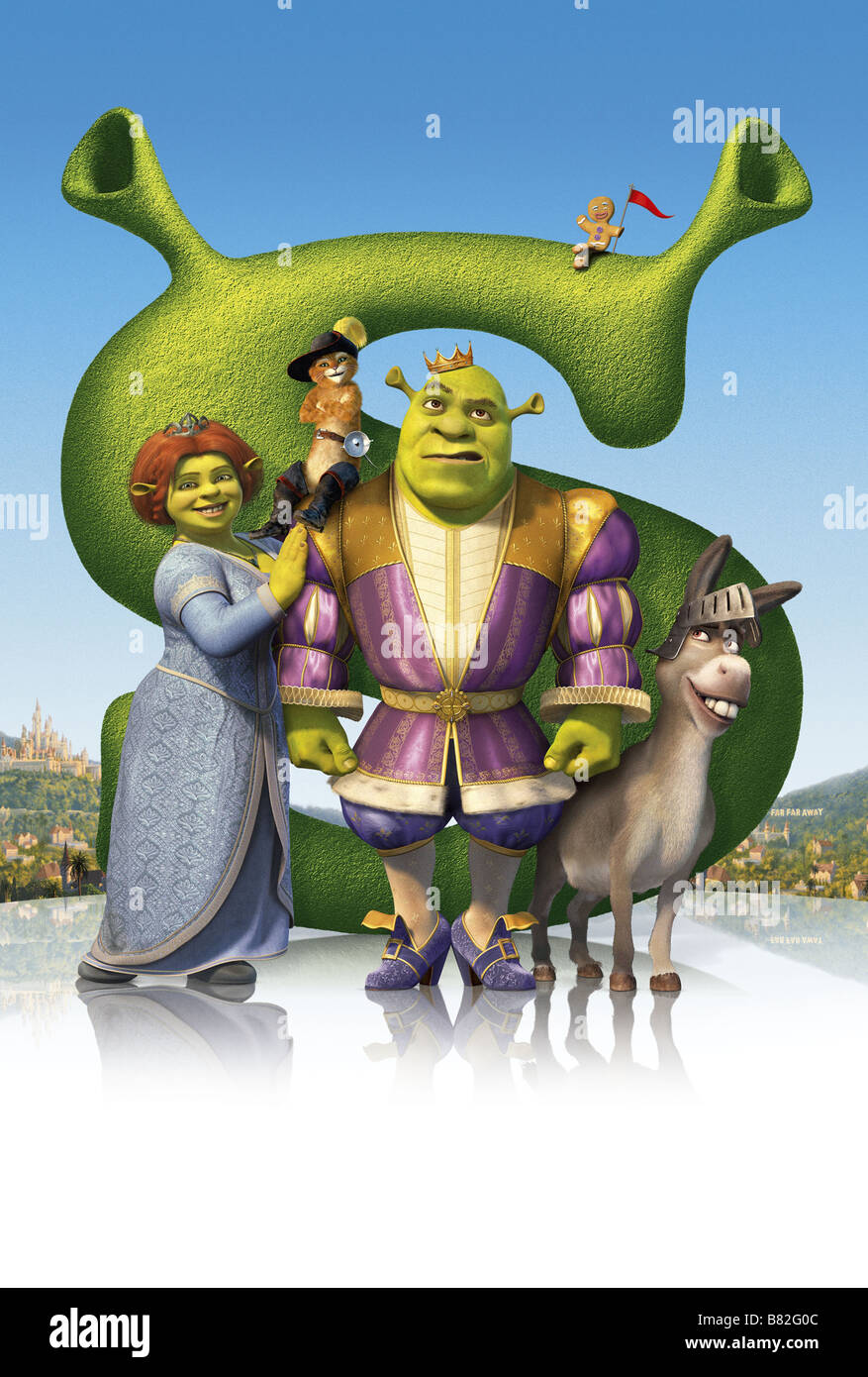 in the movie shrek directed by Shrek (2001) b sdg despite more flatulence humor than any movie since eddie murphy's nutty professor 2 , the young children in front of me at the screening of shrek were restless and bored.
