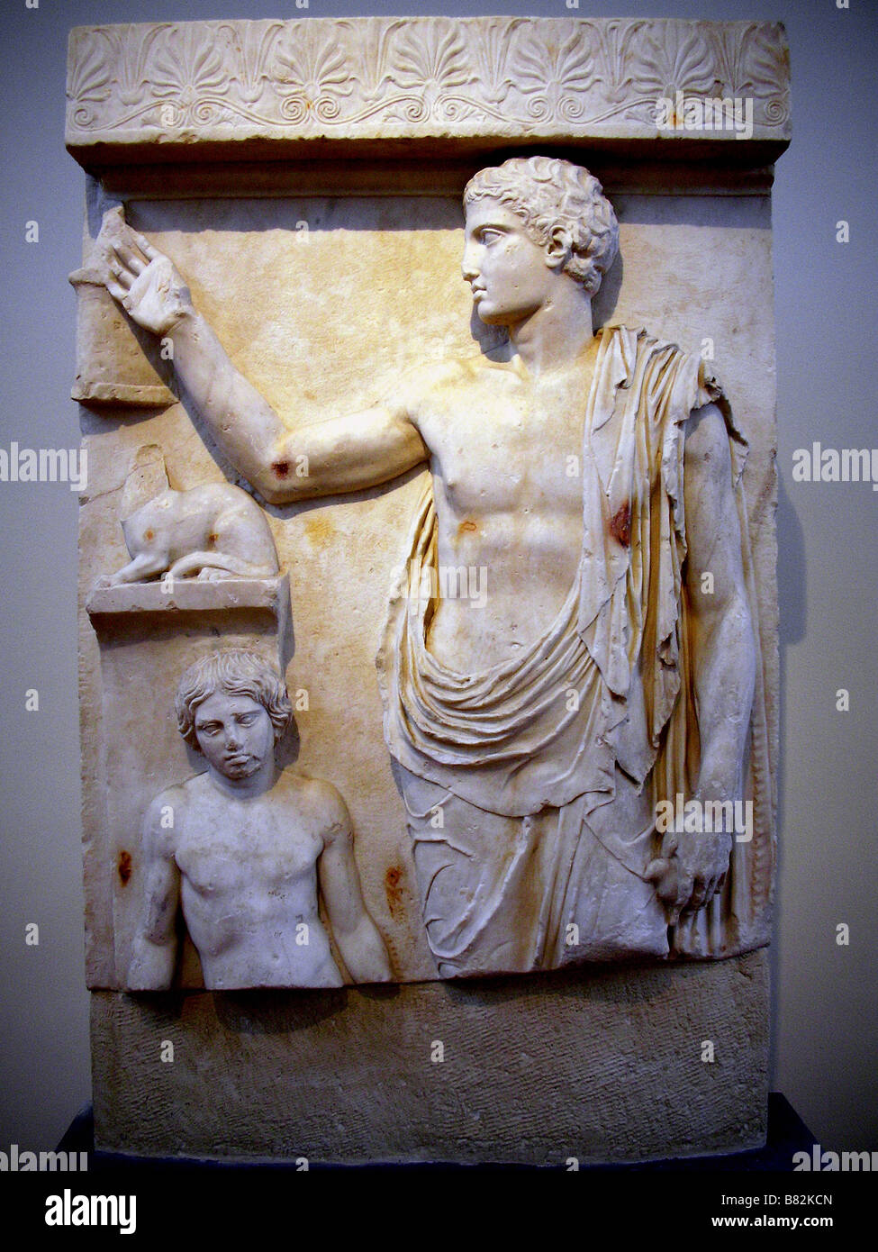 Athens museum stele stock photos athens museum stele for Graue stuhle