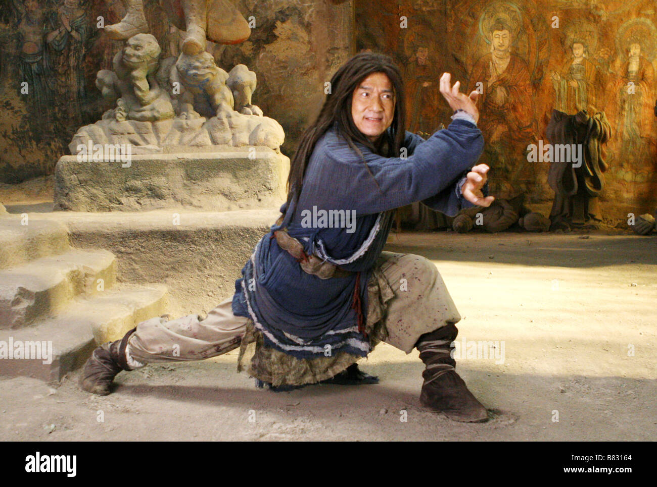 Le royaume interdit The Forbidden Kingdom  Year: 2008 - USA Jackie Chan  Director: Rob Minkoff - Stock Image