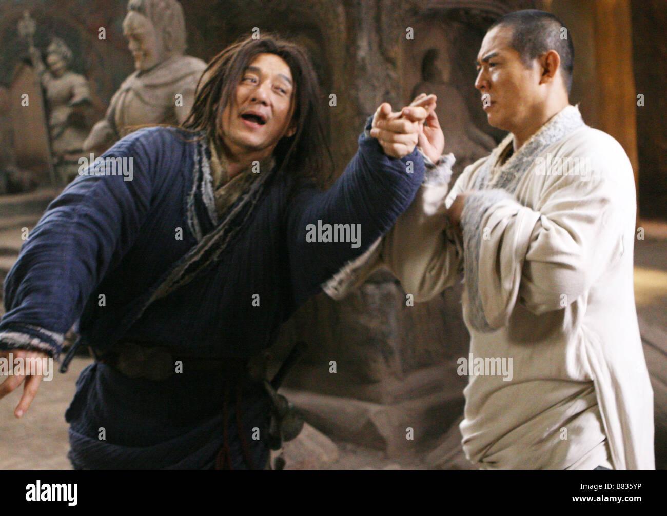 Le royaume interdit The Forbidden Kingdom  Year: 2008 - USA Jackie Chan, Jet Li  Director: Rob Minkoff - Stock Image