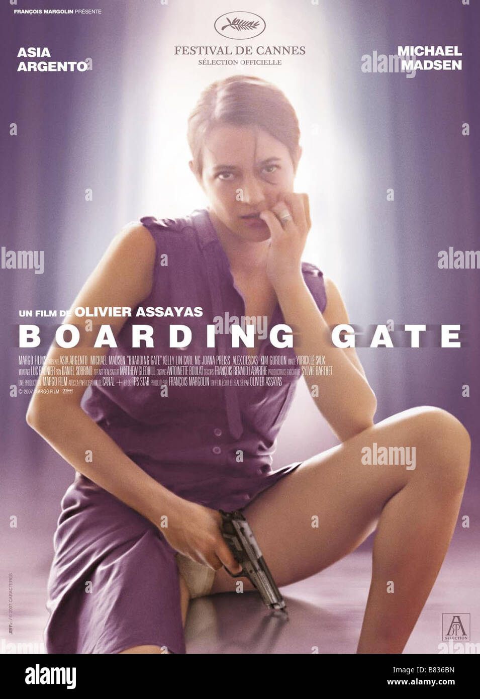 Asia Argento Boarding Gate - 2007 HD