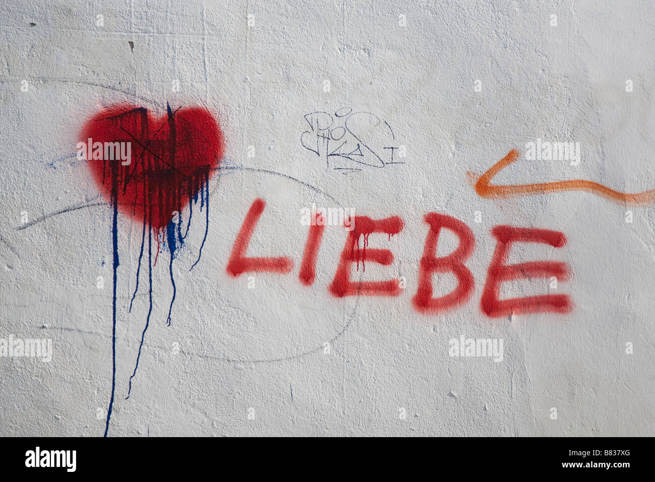 A Reaction To A Heart Sprayed On A Swastika Next To The Heart The German Word For Love Liebe