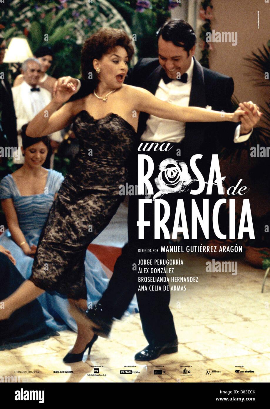 Ana De Armas Una Rosa De Francia una rosa de francia una rosa de francia (2006) spain affiche