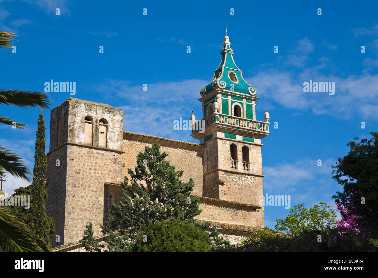 La Cartoixa, Valldemossa, Mallorca, Spain Stock Photo