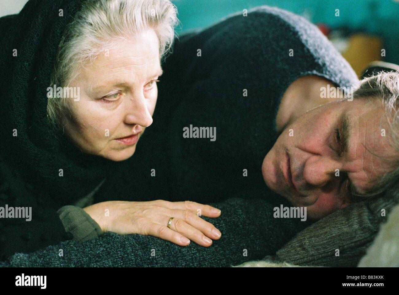 Winterreise Winterreise (2006) Germany Hanna Schygulla, Josef Bierbichler  Director: Hans Steinbichler Stock Photo