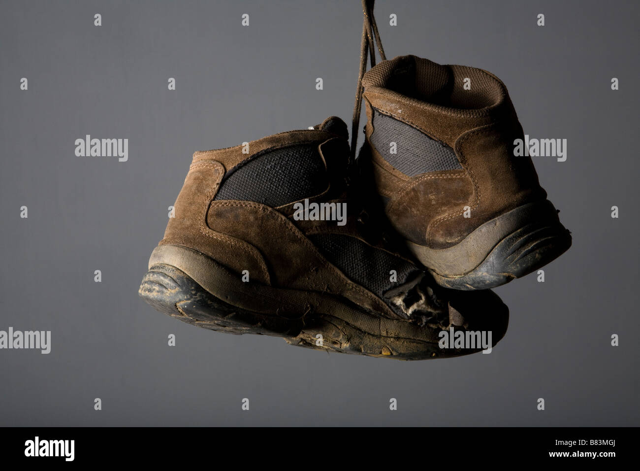 old boots - Stock Image