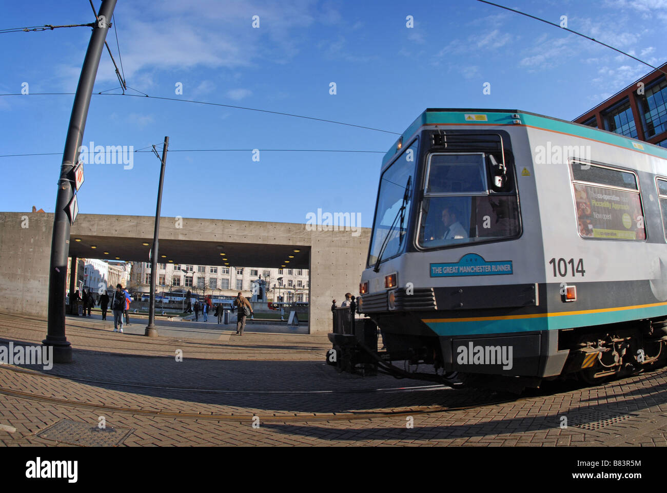 Metrolink, Manchester - Stock Image