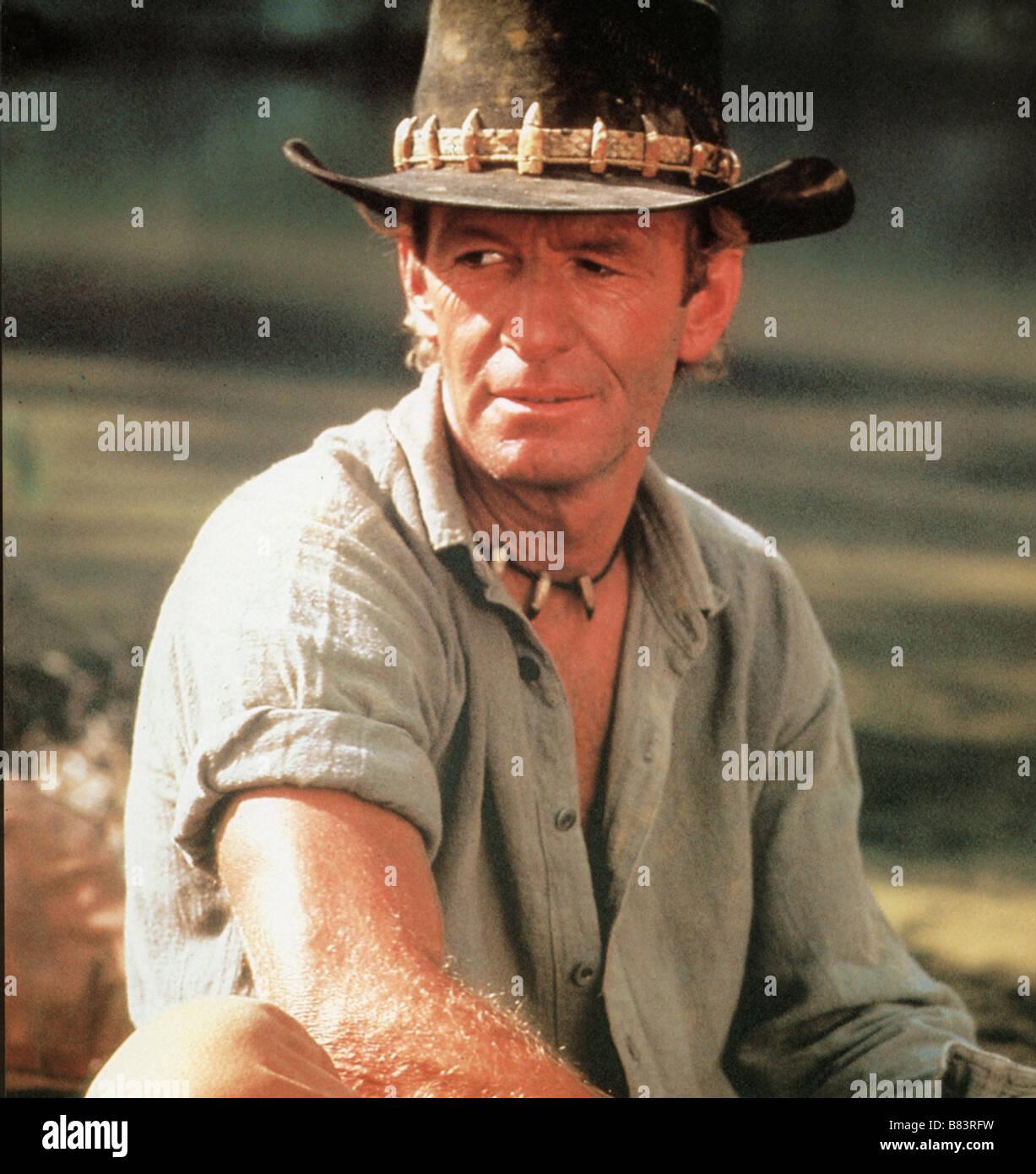 Crocodile Dundee Year  1986 - Australia Director  Peter Faiman Paul Hogan -  Stock Image a5aacd3ce79f