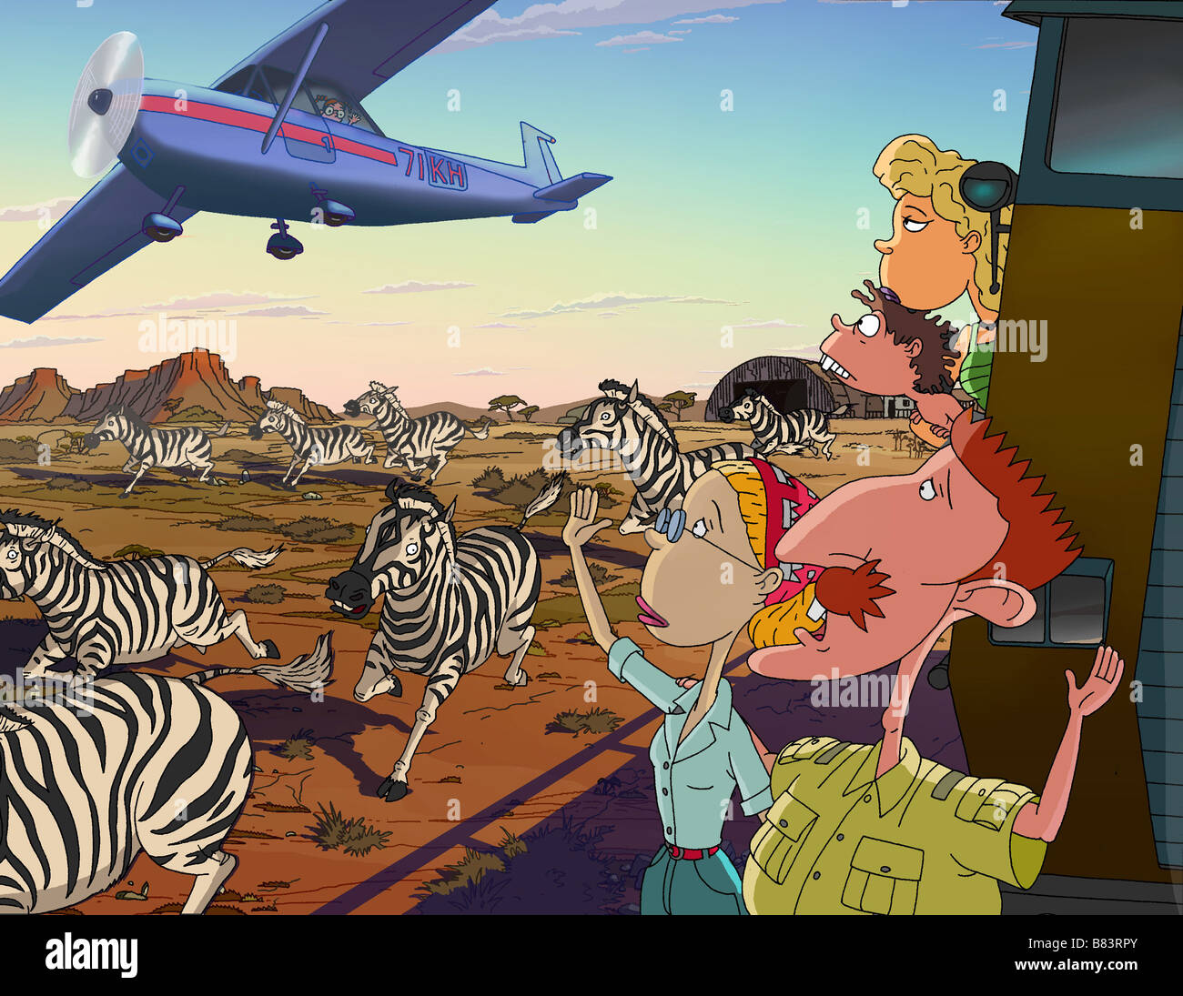 The Wild Thornberrys Movie  Year : 2002 USA Director : Cathy Malkasian,  Jeff McGrath Animation - Stock Image