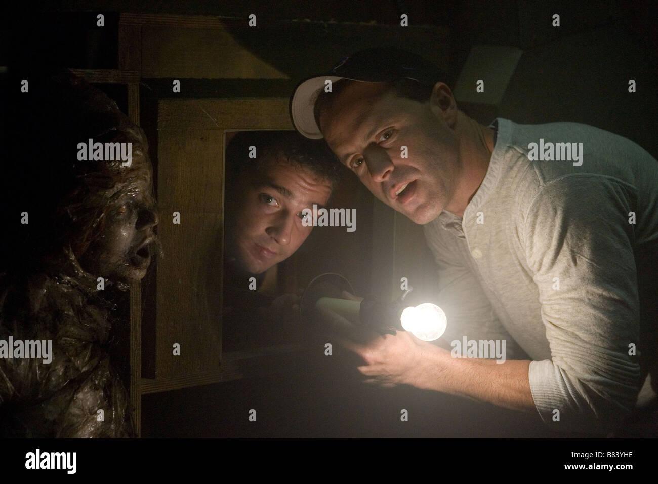 Disturbia Year : 2007 USA Director : D.J. Caruso D.J Caruso, Shia LaBeouf shooting picture Stock Photo