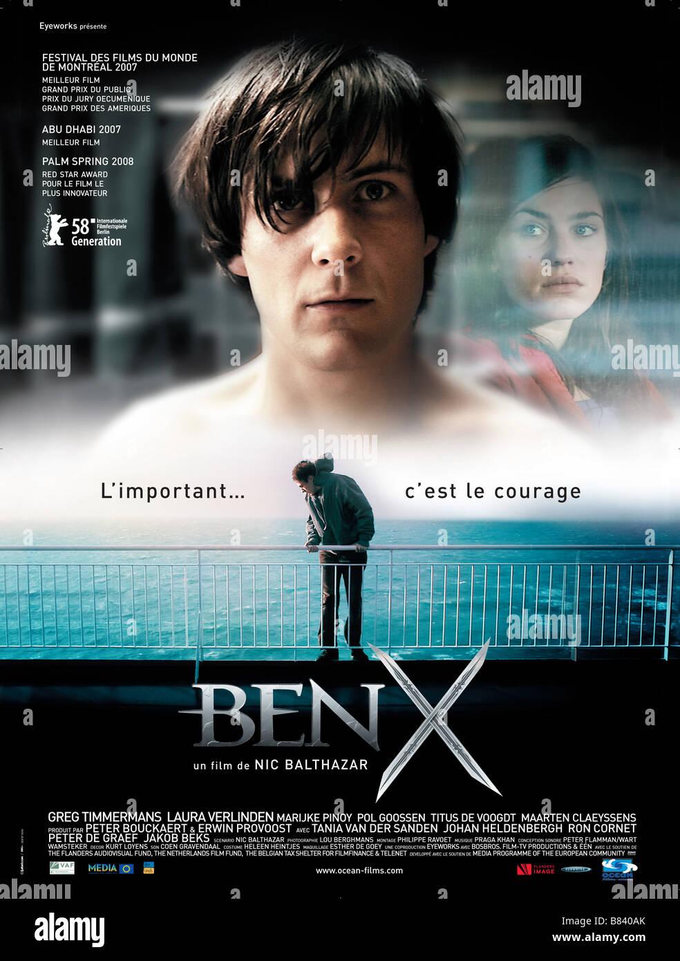 Ben X Year 2007 Belgium Netherlands Greg Timmermans Director Nic Balthazar Movie Poster Fr