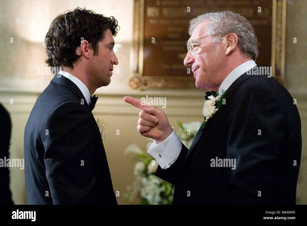 Le Témoin amoureux Made of Honor  Year: 2008 - USA / UK Patrick Dempsey, Sydney Pollack  Director: Paul Weiland - Stock Image