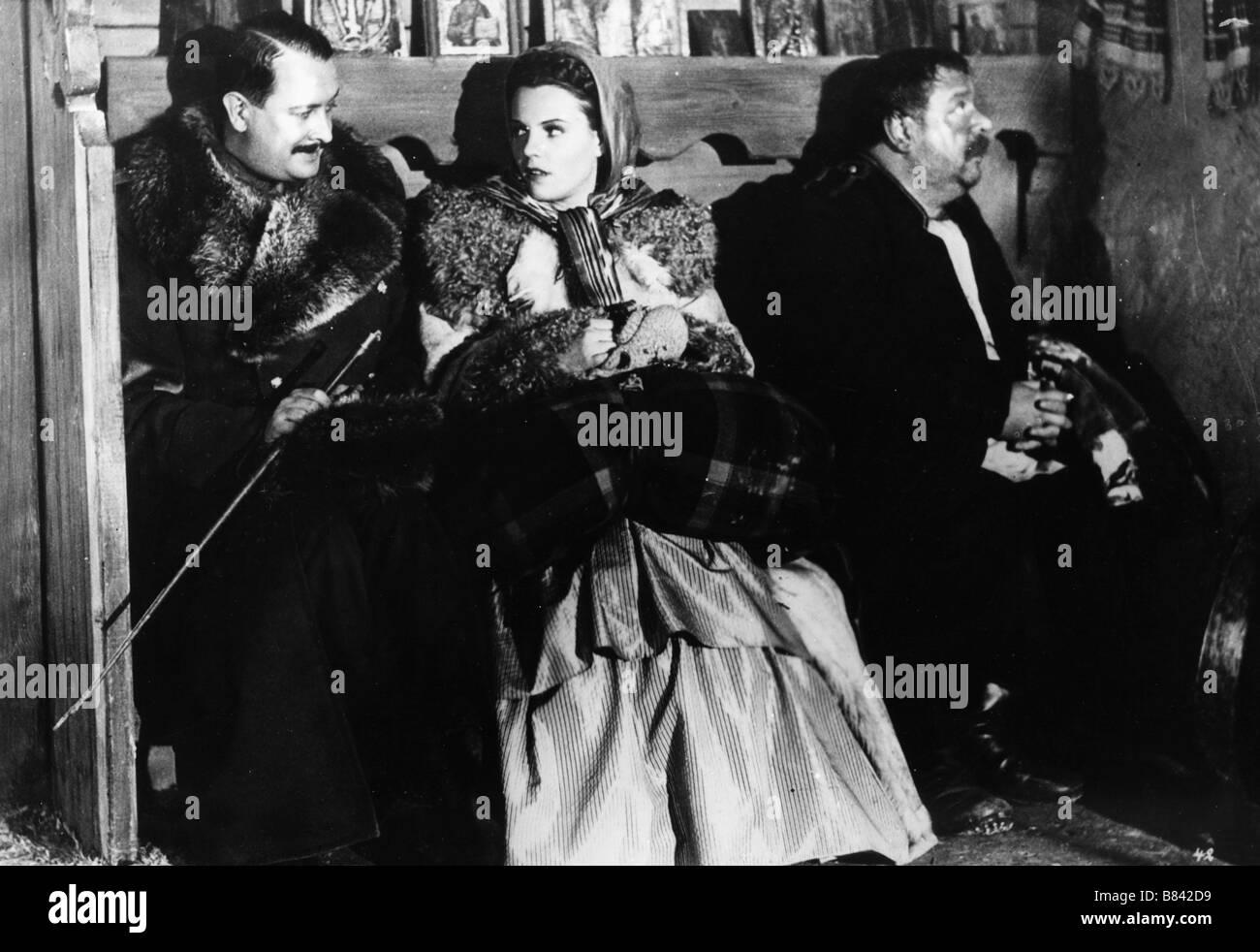 Der Postmeister The Stationmaster Year: 1940 - Germany Heinrich George, Hilde Krahl, Siegfried Breuer  Director: - Stock Image