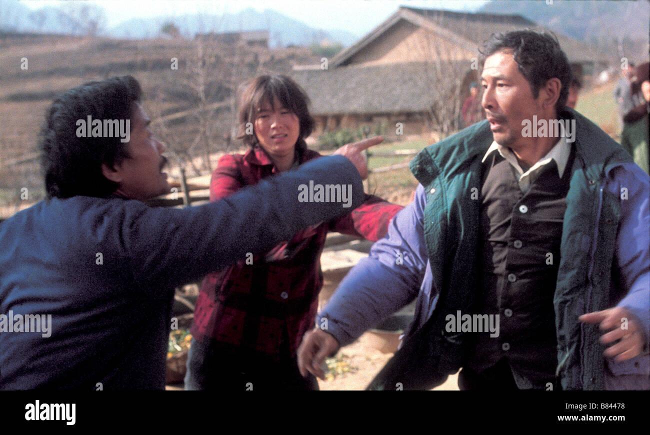 Blind Mountain Mang shan  Year: 2007 - China Jia Yinggao, Lu Huang, He Yunle  Director: Li Yang - Stock Image