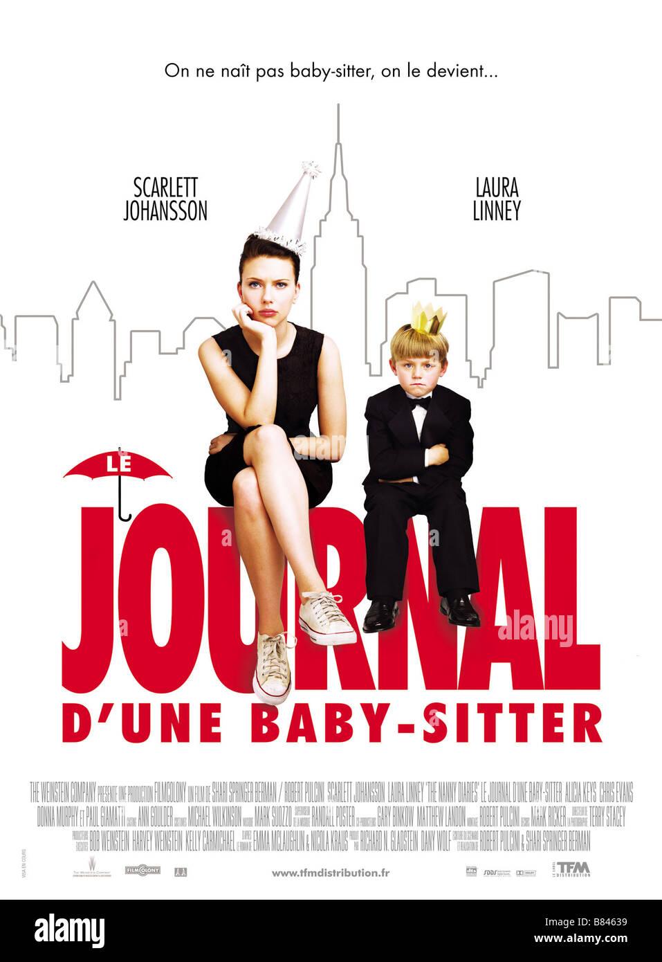 The Nanny Diaries  Year: 2007 - USA Scarlett Johansson, Nicholas Art  Director: Shari Springer Berman, Robert Pulcini - Stock Image