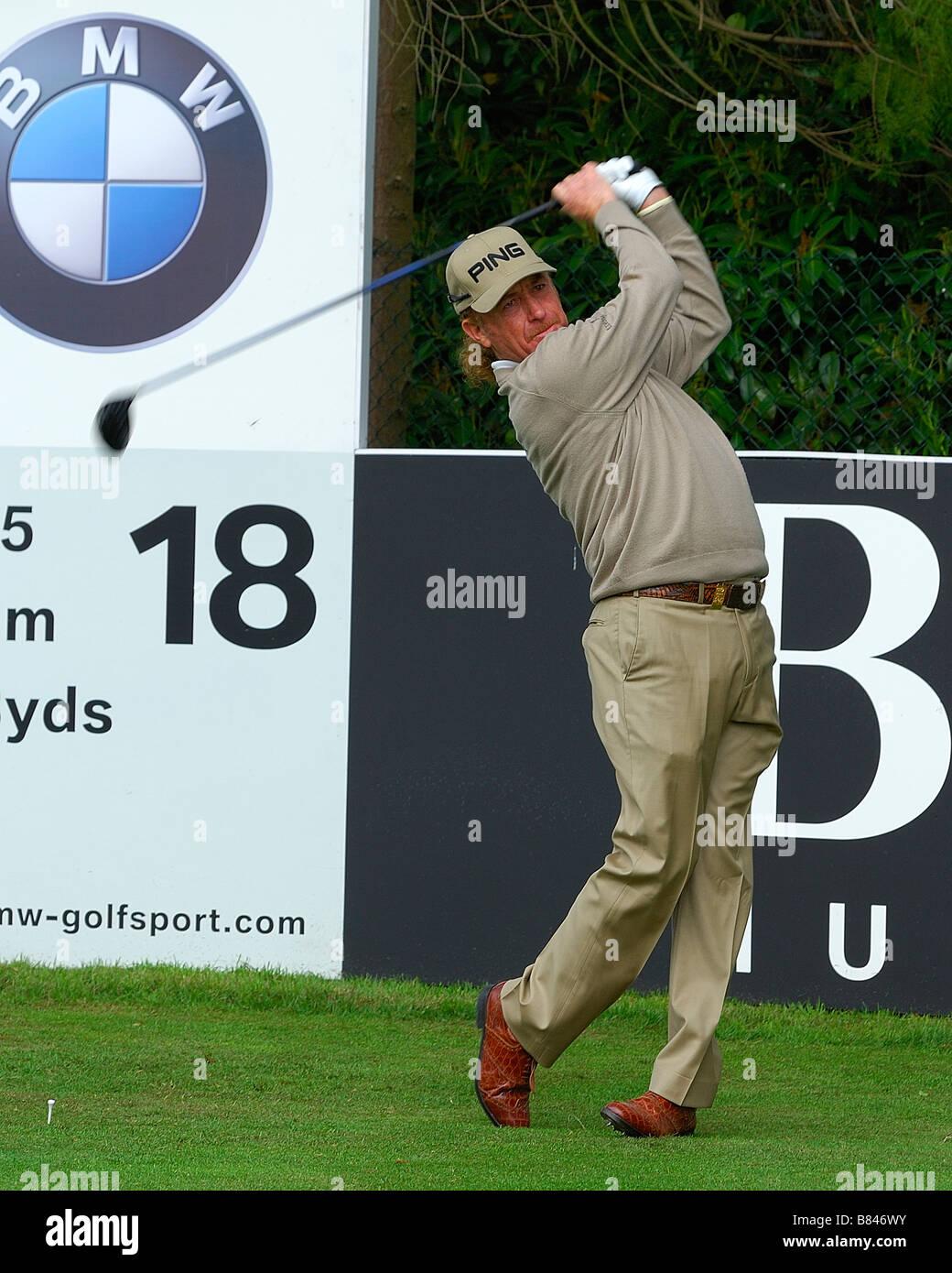 Miguel Angel JIMÉNEZ at the BMW PGA Championships Wentworth 2008 - Stock Image