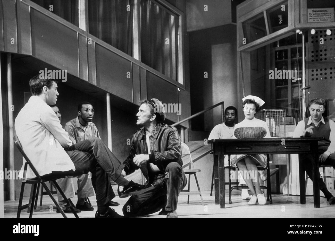 One Flew Over the Cuckoo's Nest Year : 1963 Play at Broadway - Stock Image